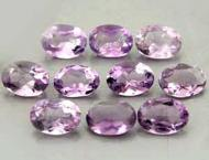 Amethyst, oval 0.5 Ct