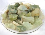 Roh-Jade aus China, geschnitten 1000g