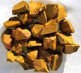 Jaspis gelb braun aus Madagaskar 1 kg