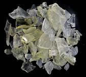 Brasilianit, Lemontrin, feine Rohsteine, 100 g.