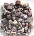 Roter Turmalin in Quarz aus Madagaskar, 250g., Rohsteine Minerale