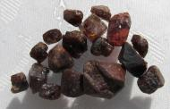 Zirkon, echte Rohedelsteine, 50 Ct., kein Zirkonia