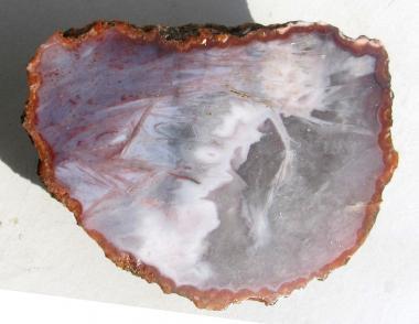 Achat aus Marokko mit Anschliff, 98 g.