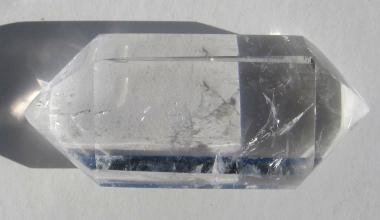 Bergkristall Doppelspitze, Doppelender