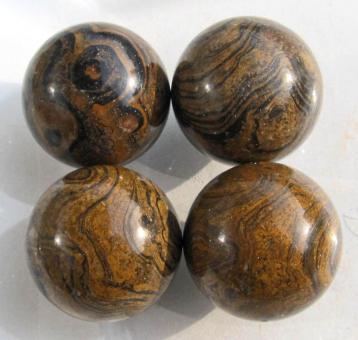 Kugel Stromatolith, ca. 30 mm