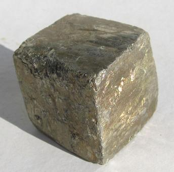 Grosser Pyrit - Würfel aus Spanien 132 g.