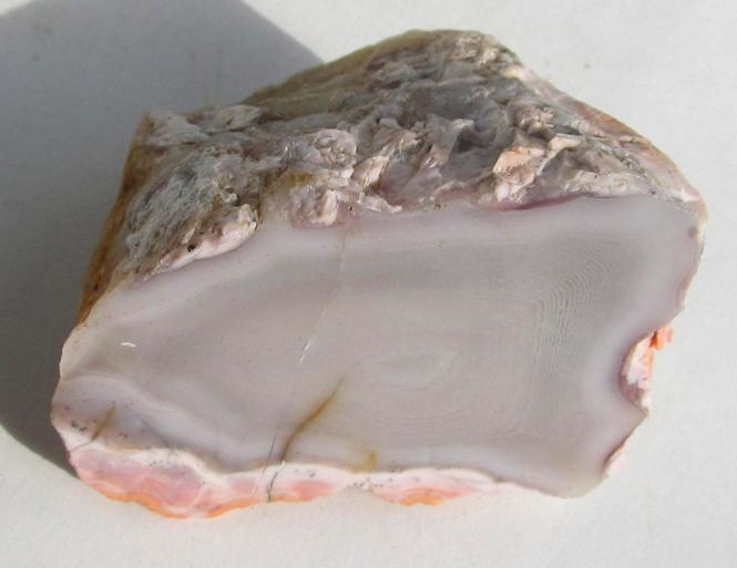Achat aus Marokko mit Anschliff, 64 g.